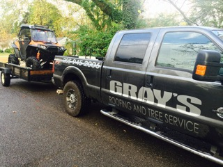 Grays truck and trailer